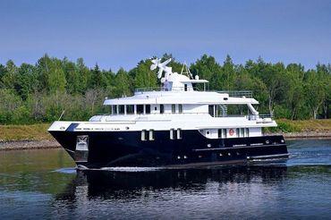 2015 Custom Built Steel Motoryacht
