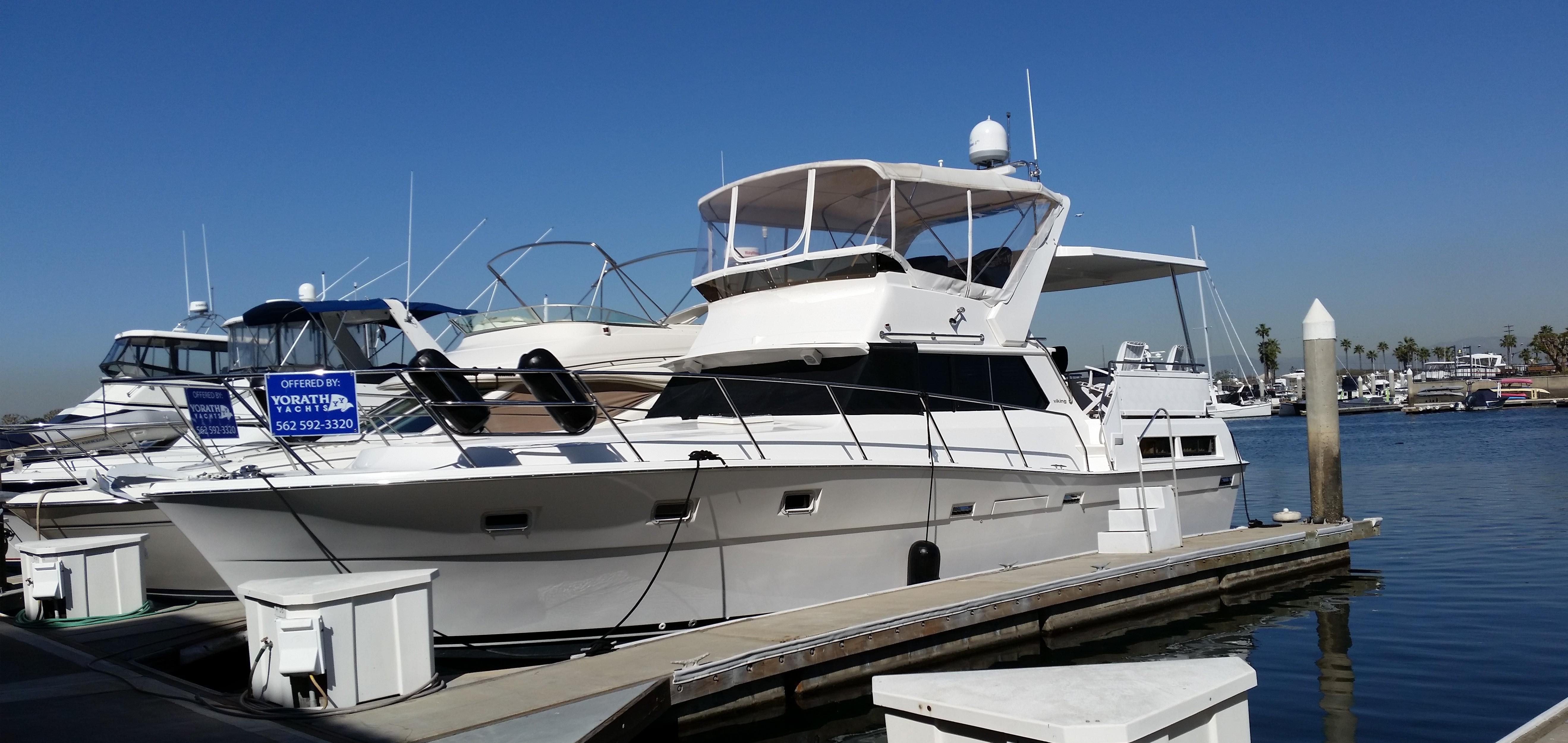 1977 viking aft cabin power boat for sale for Viking 43 double cabin motor yacht