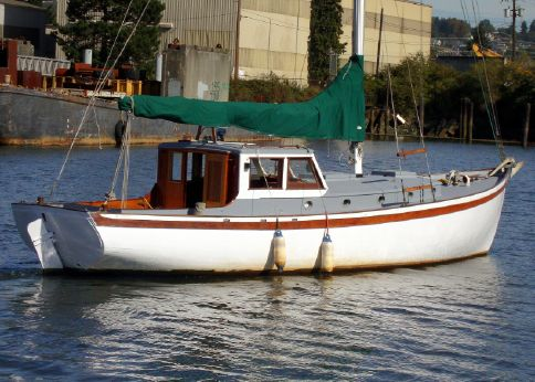 1946 Pilothouse Motorsailer