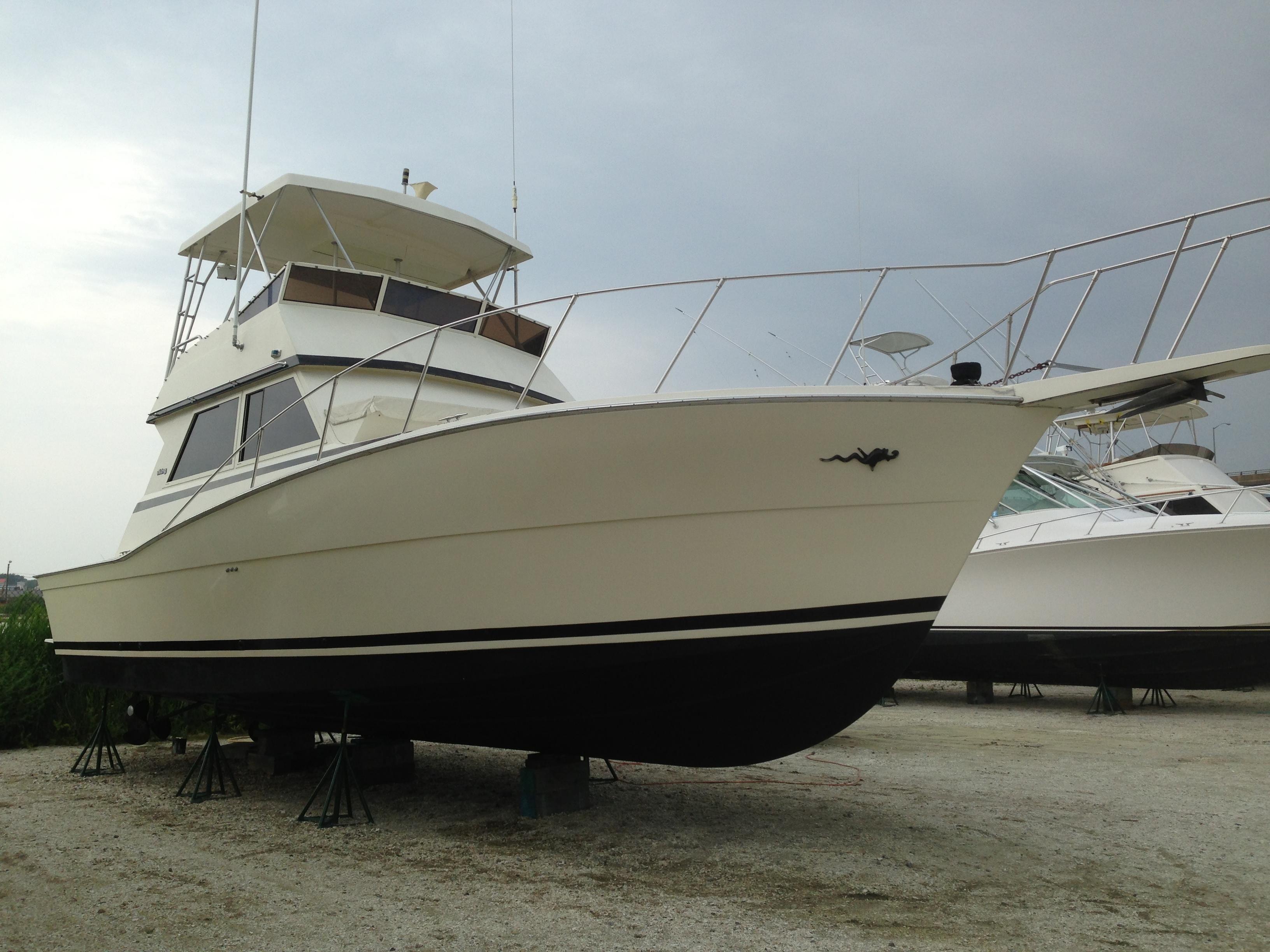 1986 viking 41 convt power boat for sale for Viking 43 double cabin motor yacht