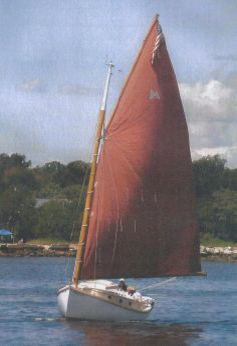 1992 Menger 23 Catboat
