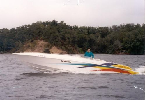 1994 Wellcraft 31 Scarab Thunder