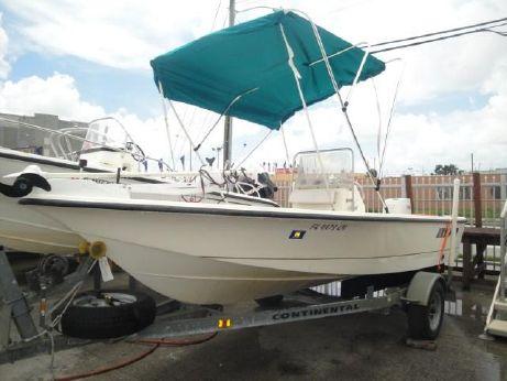 2001 Sea Pro SV1700CC Bay Boat