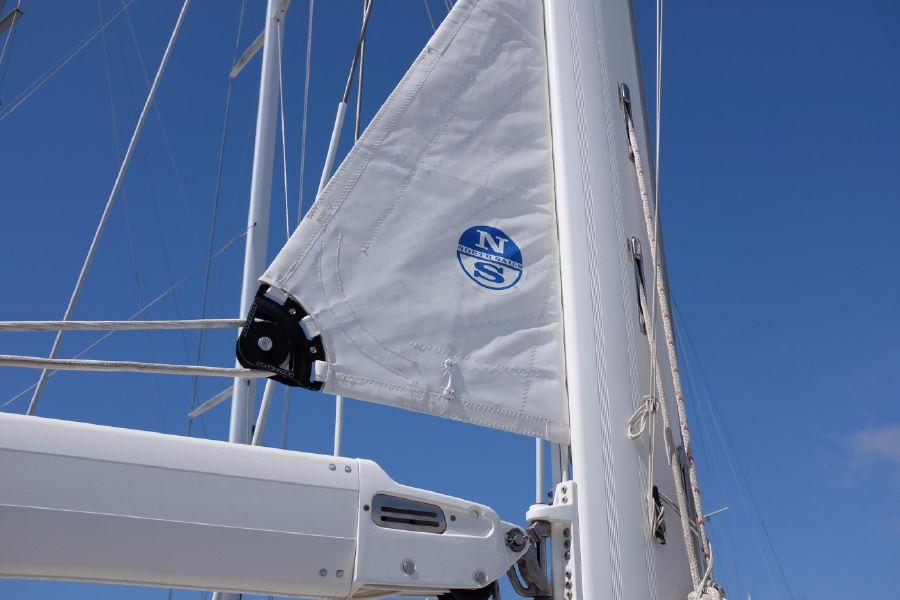Hylas 46 Sailboat in Mast Furling