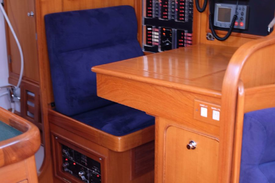 Hylas 46 Sailboat Nav Station