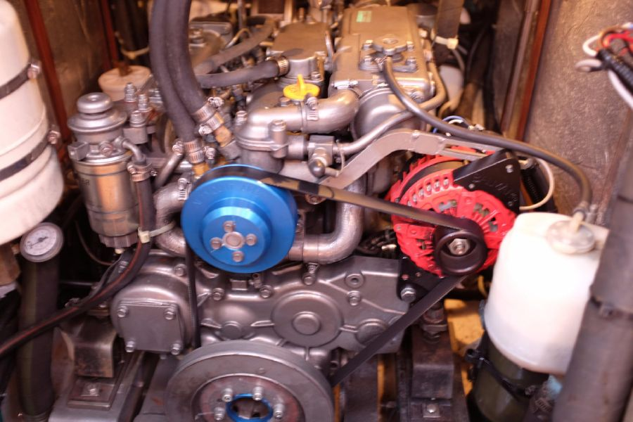 Hylas 46 Sailboat Engine