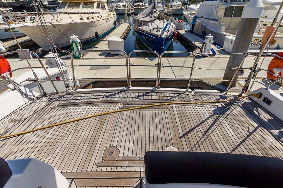 Alliaura Feeling 55 Sailboat Aft Deck