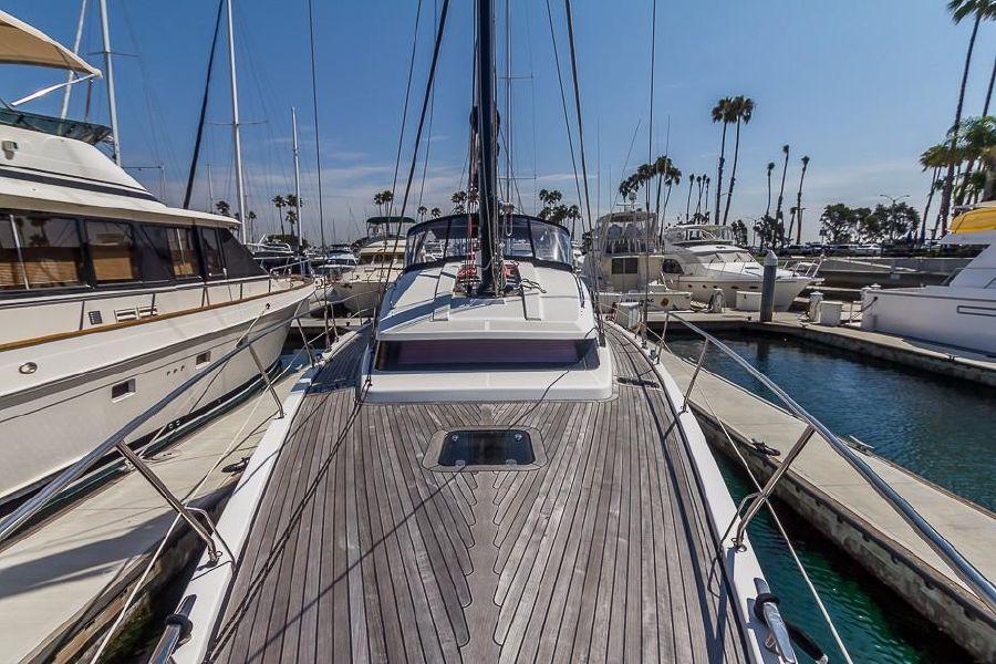 Alliaura Feeling 55 Sailboat top deck