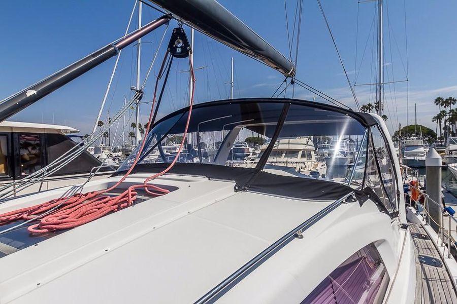 Alliaura Feeling 55 Sailboat Isinglass Dodger