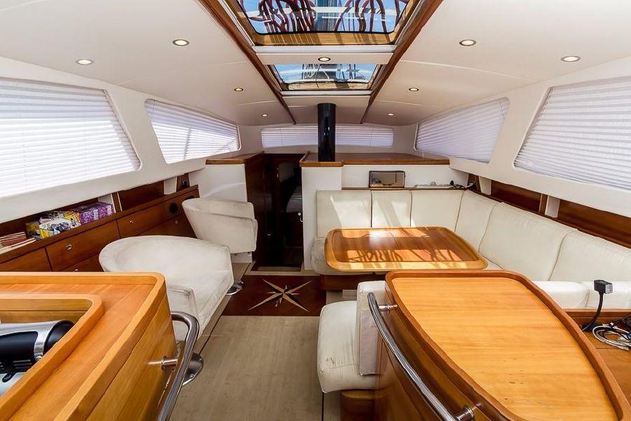 Alliaura Feeling 55 Sailboat Salon Interior
