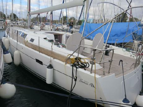 2008 Hanse 540 epoxy