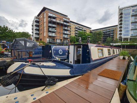 1991 Narrowboat 60ft with London mooring