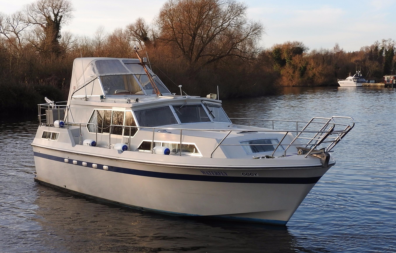 1975 Broom European 35 Power Boat For Sale Www