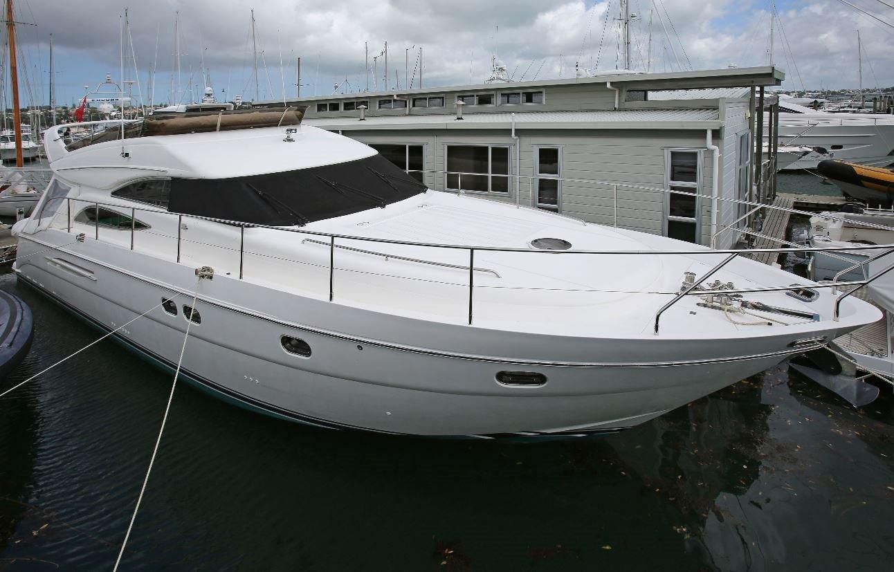 2006 princess 61 power boat for sale for Outboard motors for sale nz
