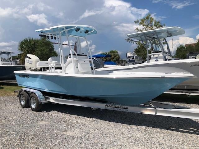 2019 Sea Pro 228 Dlx Power Boat For Sale Www Yachtworld Com