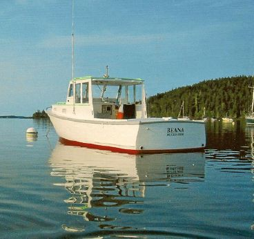 1963 28 Ft Rich Downeast Lobster Boat