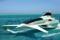 2015 Hydrofoil 100kt, Multiple Uses Private Yacht or Tender