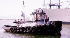 1943 Gibbs Gas Engine Co. U S Navy Yard Tug
