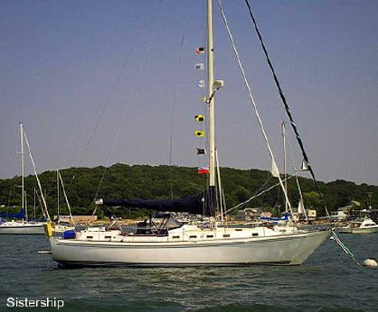 1983 Brewer 42' 12.8 Cutter