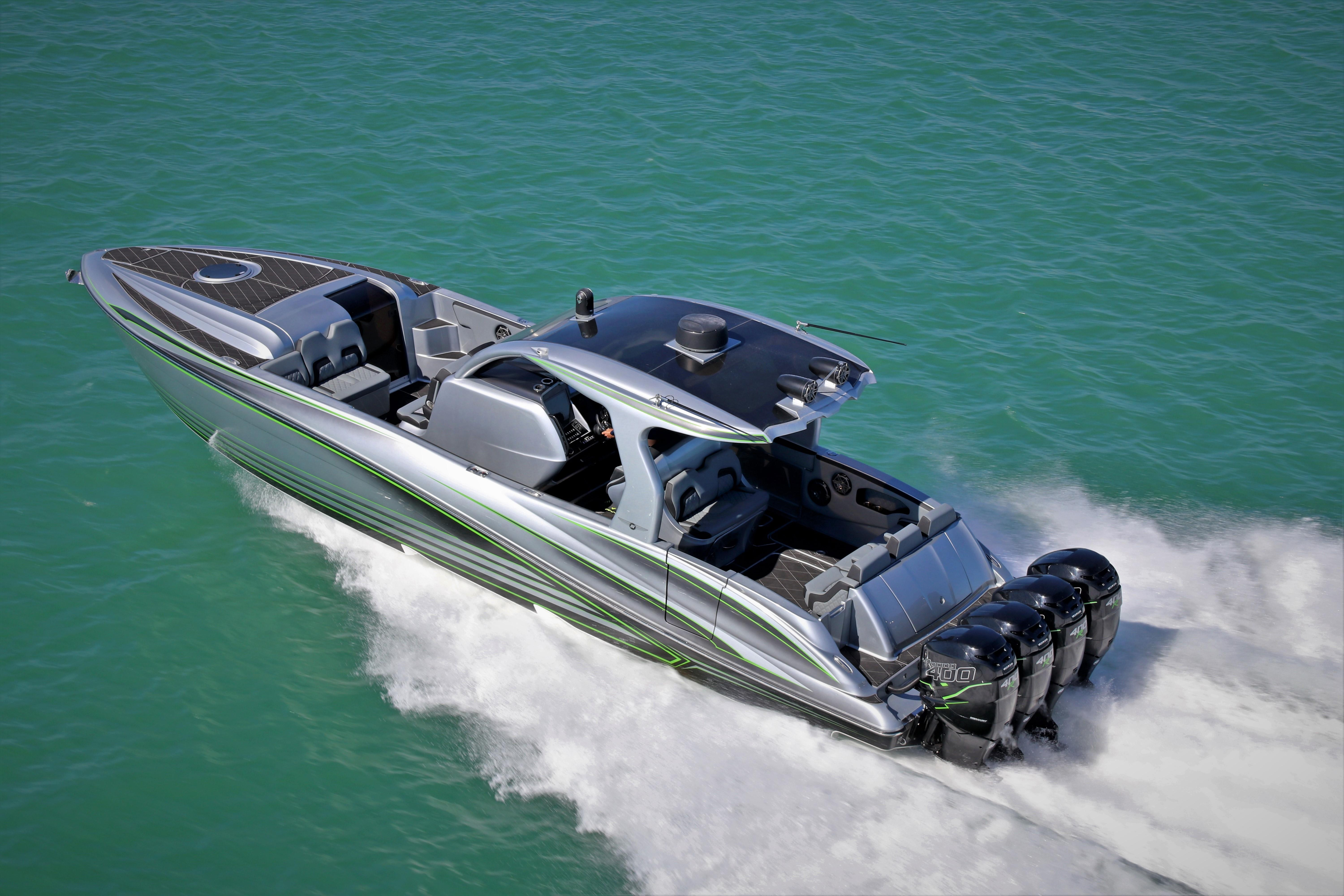 2018 Deep Impact 399 Cabin Power Boat For Sale
