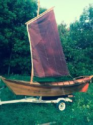 1992 Classic French Sailing Dory