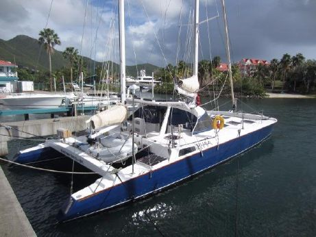 1979 Spronk 50 ketch rigged catamaran