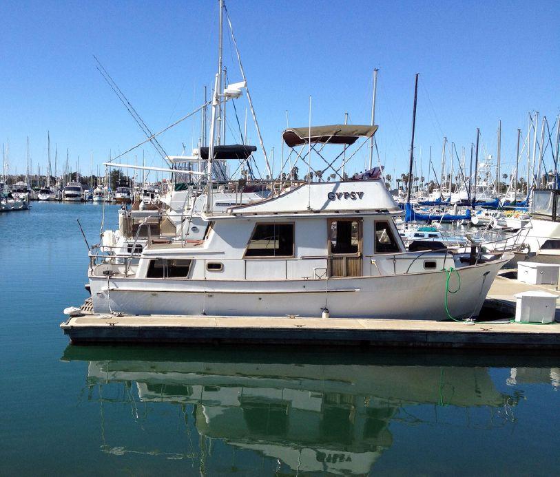 1980 chb trawler 34