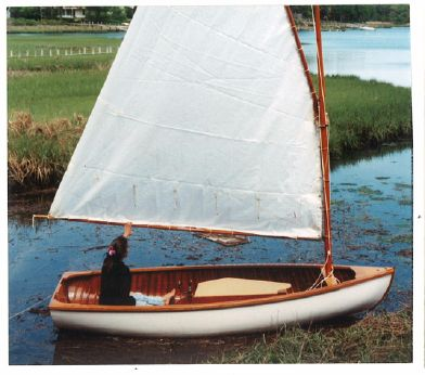 1935 Peterborough Sailing Skiff