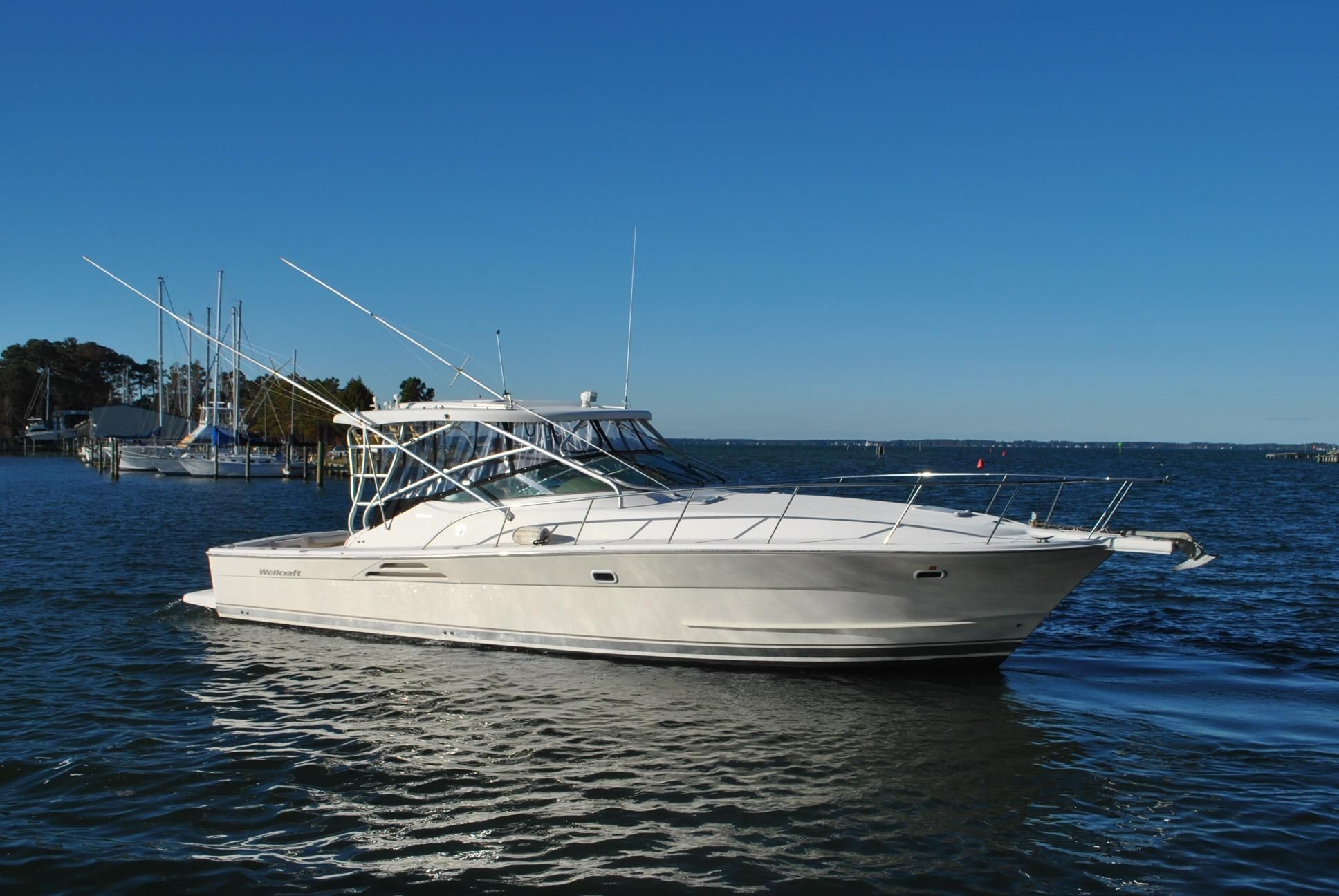 2004 Wellcraft Coastal 390 Power Boat For Sale Www