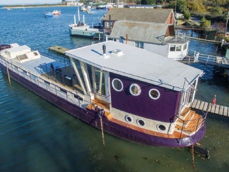 1922 Luxemotor Dutch  Barge