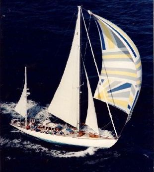 1934 Sparkman & Stephens Design Jacobson Peterson Yawl Rigged