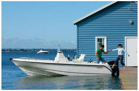 2006 Boston Whaler 210 Outrage