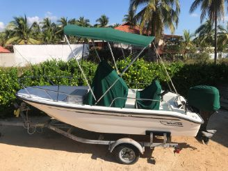 2000 Boston Whaler Dauntless 14