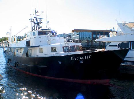 1962 Fairmile Custom Steel North Sea Trawler