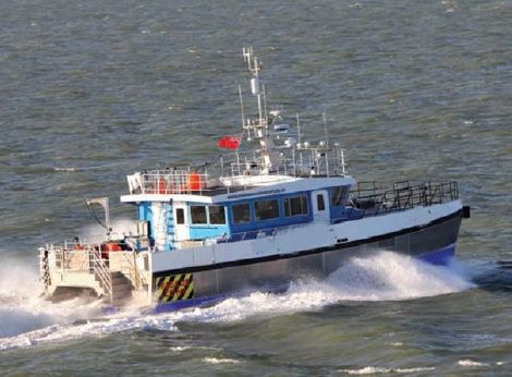 2012 Wind Farm Support Vessel - Aluminum Catamaran Work Patrol Boat