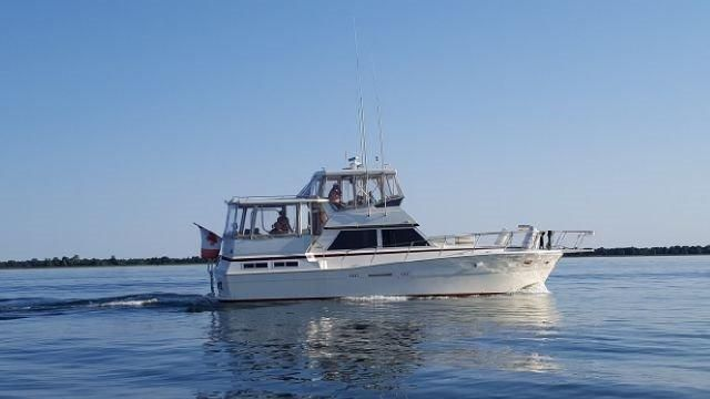 1987 Viking 44 Motor Yacht Power Boat For Sale Www