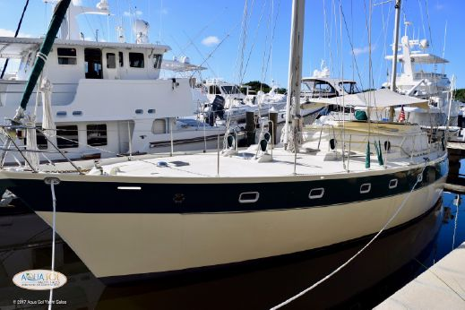 1987 Ted Brewer 50 Pilothouse Ketch
