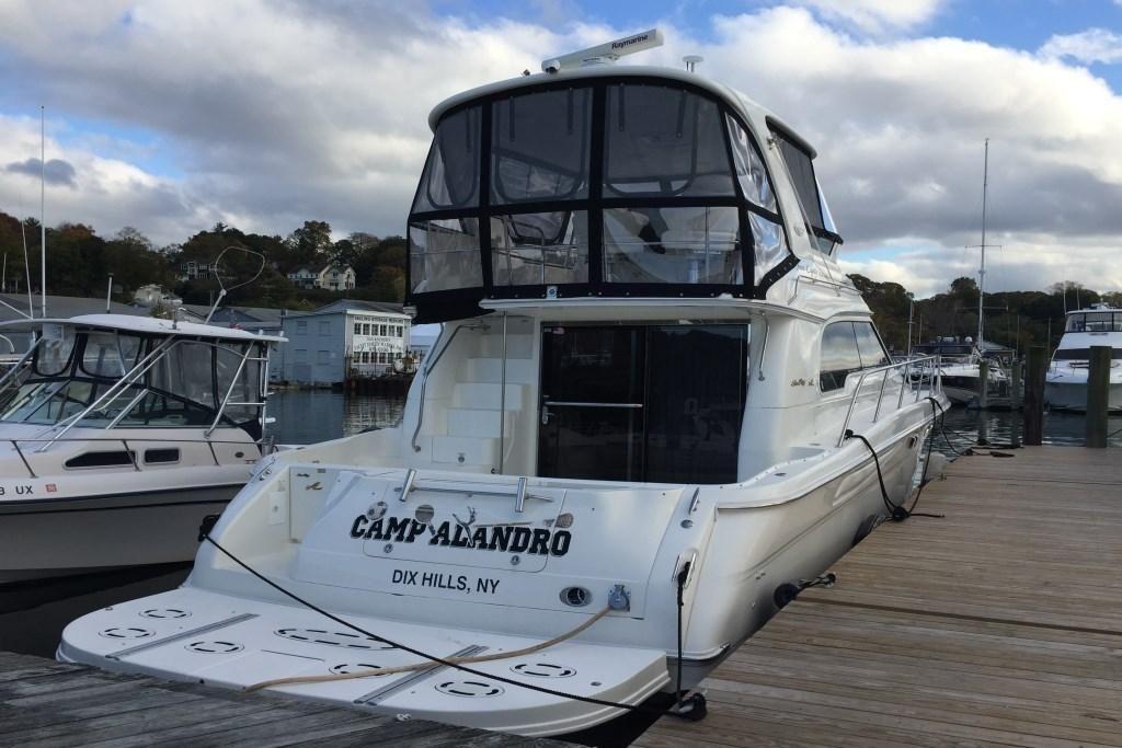 2001 Sea Ray 480 Sedan Bridge Power Boat For Sale Www