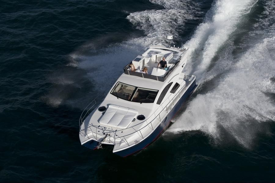 2014 mares catamarans 45 fly power boat for sale www for Large motor yachts for sale