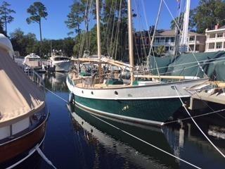 1984 Classic Steel schooner