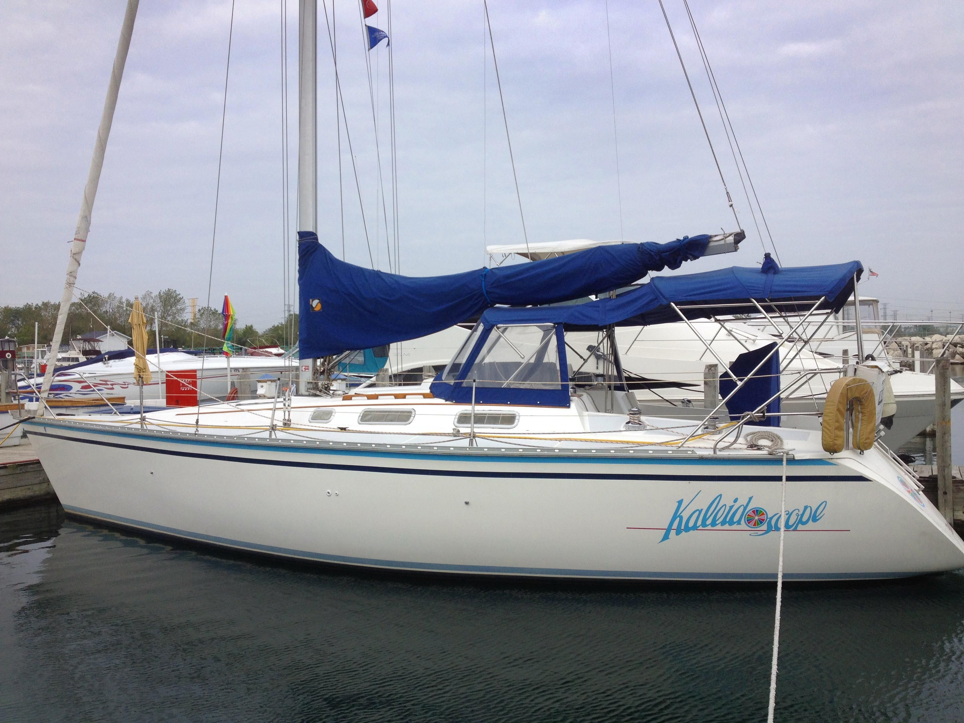 1989 Hunter Legend 37 5 Cruiser For Sale Yachtworld