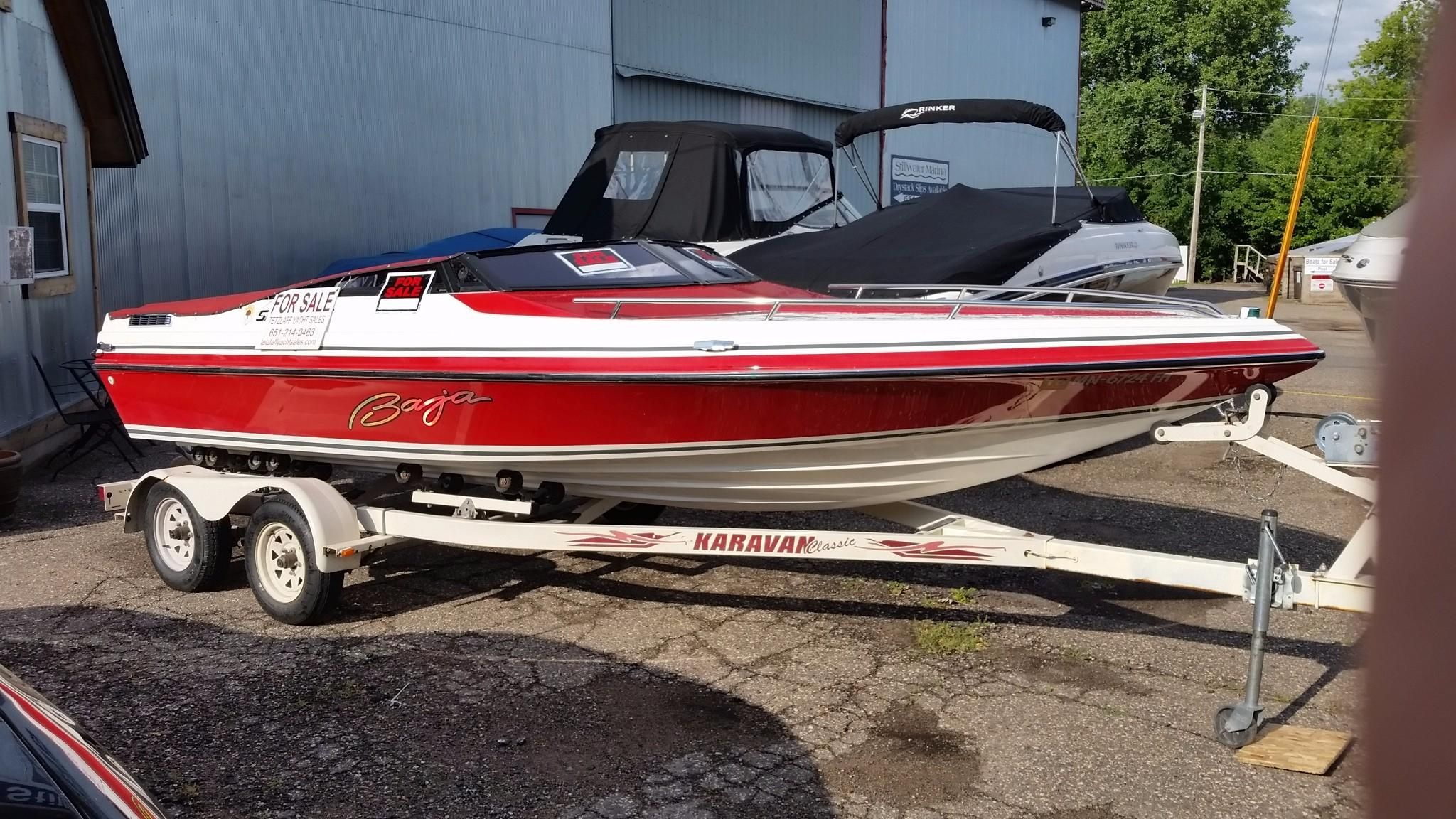 1988 baja sport 196 power boat for sale for Yamaha of stillwater