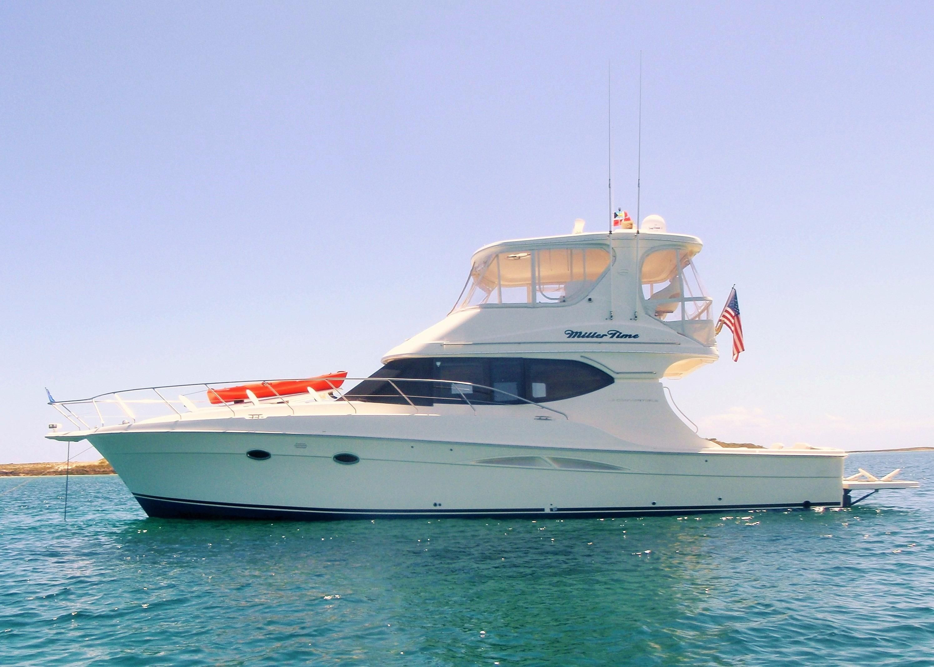 2004 silverton 48 convertible power new and used boats for for Klakring motor co annapolis