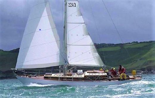 1966 Holman 42 Cruiser Racer Sloop