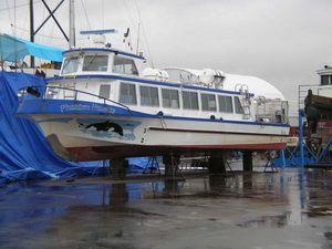 1976 W. Bay Boat Builders Crew boat