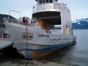 1991 Quiet Cove catamaran landing craft