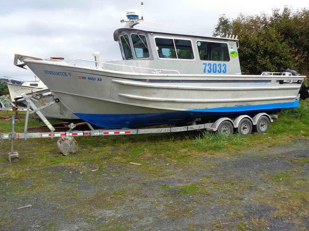 2003 silver streak charter sport fishing boat power boat for Kodiak fishing charters
