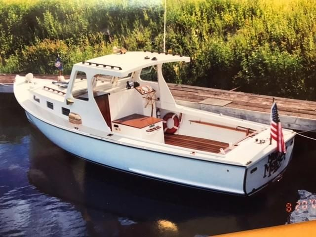 1947 Classic Hodgdon Bros. Lobster Yacht Power Boat For ...