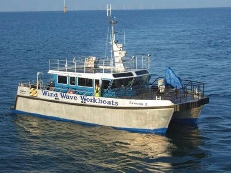 2010 Aluminum Catamaran Offshore Support Vessel - Windfarm Support Work Boat