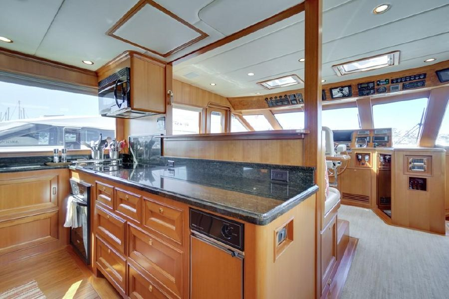 Offshore 76 Yacht Kitchen